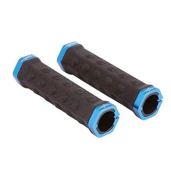 Manopole MTB Campa Bros con anelli blu