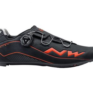 Scarpe Northwave Flash 2 Carbon Black Orange