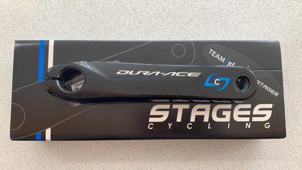 Pedivella sx Stages L Power Meter - Dura Ace 9100