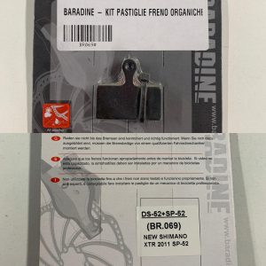 Pastiglie freni a disco Baradine Shimano XTR