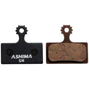 Pastiglie freni disco Ashima Shimano XTR XT SLX semi-metalliche
